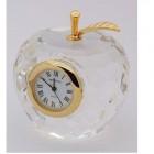 Apple Crystal Clock
