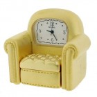 Armchair Gold Clock