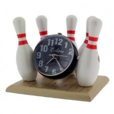 Bowling Globe Clock