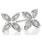 Fiorelli - CZ Flower Earrings
