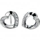 Fiorelli - Open Heart Shape Earrings