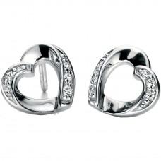 Fiorelli - Open Heart Shape Earrings