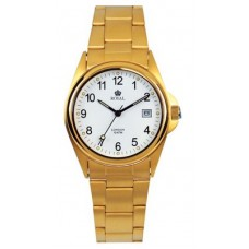 Royal London - Classic Men's Gold Watch (With Date)