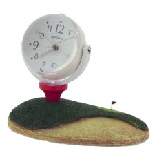 Golf Ball Globe Clock