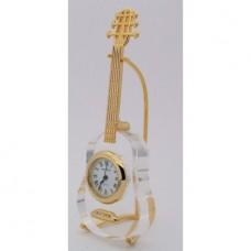Guitar Crystal Clock