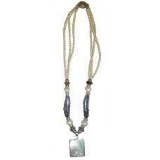 Iolite Freshwater Pearls