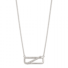 Fiorelli - Crossover Pave Necklet