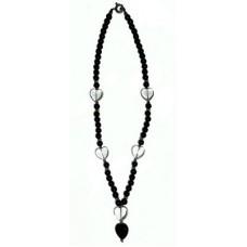Onyx Heart Shaped Beads