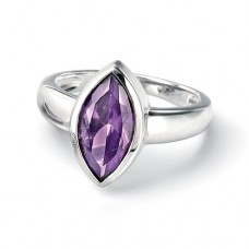 Fiorelli - Purple Teardrop Shape Ring