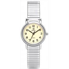 Royal London – Classic Ladies Watch with Silver Metal Bracelet Strap